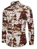 זול חולצות לגברים-פרחוני פעיל בסיסי חולצה - בגדי ריקוד גברים