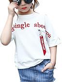 tanie Topy dla dziewczynek-Brzdąc Dla dziewczynek Aktywny Geometric Shape Krótki rękaw T-shirt
