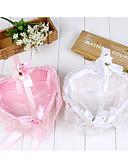 """billige Blomsterpikekjoler-Blomsterkurv Sateng 2 3/4"""" (7 cm) Perle / Satengblomst / Blonder 1 pcs"""