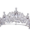 cheap Mother of the Bride Dresses-Alloy Tiaras / Headpiece with Acrylic / Faux Pearl 1pc Wedding / Special Occasion Headpiece