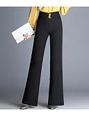 ieftine Pantaloni de Damă-Pentru femei De Bază Pantaloni Chinos Pantaloni Mată