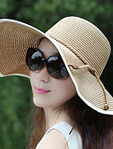 cheap Women's Belt-Women's Active / Holiday Straw Hat - Color Block