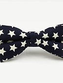 cheap Men's Ties & Bow Ties-Men's Party / Basic Cotton / Polyester Bow Tie - Galaxy / Color Block Bow / All Seasons