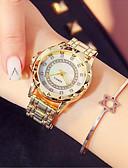 ieftine Quartz-Pentru femei Ceas Elegant Ceas de Mână Japoneză Quartz 30 m Model nou Ceas Casual imitație de diamant Oțel inoxidabil Bandă Analog Modă Elegant Argint / Auriu / Roz auriu - Auriu Argintiu Roz auriu