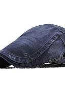 billige Hatter til herrer-Unisex Kontor / Grunnleggende Beret Ensfarget