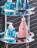 זול מכנסיים ושורטים לגברים-צדף לחדר האמבטיה יצירתי מודרני אלומיניום 1pc מותקן על הקיר