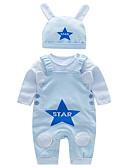 povoljno Vanjska odjeća za bebe-Dijete Dječaci Osnovni Dnevno Jednobojni Dugih rukava Regularna Komplet odjeće Plava / Dijete koje je tek prohodalo