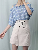 cheap Women's Shirts-Women's Going out A Line Skirts - Solid Colored