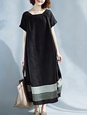 ieftine Print Dresses-Pentru femei Ieșire Supradimensionat Linie A Rochie Midi