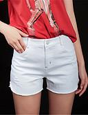ieftine Pantaloni de Damă-Pentru femei De Bază Pantaloni Scurți Pantaloni Mată