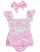 preiswerte Herren Unterwäsche & Socken-Baby Mädchen Aktiv Druck Ärmellos Baumwolle / Polyester Einzelteil Rosa