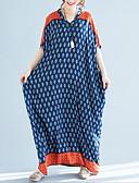 cheap Women's Dresses-women's loose swing dress maxi v neck