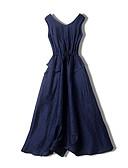 זול שמלות נשים-עד הברך שמלה נדן רזה ליציאה בגדי ריקוד נשים