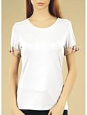 abordables Camisas para Mujer-Mujer Tallas Grandes Algodón Camiseta A Cuadros