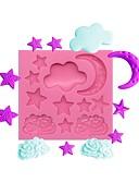 preiswerte Damenmäntel und Trenchcoats-Backwerkzeuge Silikon Niedlich / Neuankömmling / Kreativ Kuchen / Für Kuchen Rechteckig Dessert Dekorateure 1pc