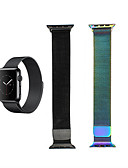 halpa Smartwatch-nauhat-Watch Band varten Apple Watch Series 4/3/2/1 Apple Milanolainen Ruostumaton teräs Rannehihna