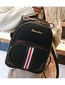 cheap Sweater Dresses-Women's Bags PU(Polyurethane) Backpack Zipper Brown / Black / Red