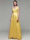 hesapli Gelin Annesi Elbiseleri-Sütun V Yaka Yere Kadar Payetli Payet ile Resmi Akşam Elbise tarafından TS Couture® / Ünlü Stili