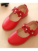 povoljno Vjenčanice-Djevojčice Cipele PU Proljeće & Jesen Udobne cipele / Obuća za male djeveruše Ravne cipele za Obala / Crvena / Pink