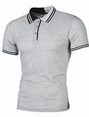 cheap Men's Ties & Bow Ties-Men's Polo - Color Block Print