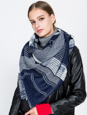 cheap Women's Scarves-Women's Vintage / Basic Rectangle - Print Tassel