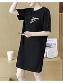 povoljno Majica s rukavima-Žene Izlasci Shift Haljina Iznad koljena