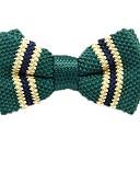ieftine Cravate & Papioane de Bărbați-Unisex Dungi / Imprimeu / Bloc Culoare Funde Petrecere / De Bază Papion Cravată