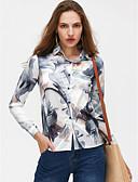 cheap Women's Shirts-Women's Holiday Basic Shirt - Geometric Shirt Collar