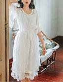 povoljno Ženske haljine-Žene Izlasci Širok kroj Shift Haljina Midi