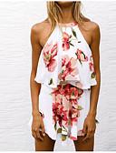 ieftine Bluze & Camisole Femei-Pentru femei Tank Tops - Floral, Pantaloni