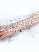 baratos Jaquetas Femininas-Longas Bracelete Apanhador de Sonhos Estiloso, Clássico Mulheres Branco Bijuteria de Corpo Para Casamento / Noivado