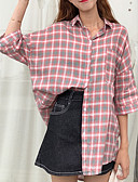 povoljno Ženski jednodijelni kostimi-Majica Žene Dnevno / Izlasci Karirani uzorak