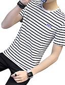 preiswerte Herren-Hosen und Shorts-Herrn Gestreift T-shirt
