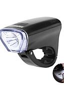 رخيصةأون ملابس سباحة رجالي-ضوء الدراجة الأمامي / مصابيح الدراجة LED اضواء الدراجة ركوب الدراجة ضد الماء, سريع الإصدار, خفة الوزن AA / 14500 400 lm أخضر / ABS / وسائط متعددة