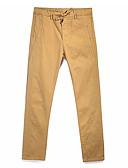 ieftine Pantaloni Bărbați si Pantaloni Scurți-Bărbați Zvelt Pantaloni de marfă Pantaloni Mată