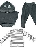 povoljno Hlače za dječake-Dijete koje je tek prohodalo Dječaci Osnovni Jednobojni Dugih rukava Komplet odjeće