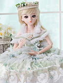cheap Wedding Dresses-Doris Ball-joined Doll / BJD Blythe Doll Baby Girl 24 inch Full Body Silicone - Cute Exquisite High-Temperature Resistant Fibre Wigs Kid's Girls' Toy Gift