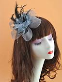 povoljno Ukrasi za kosu-Perje / Net Headpiece s Perje / Cvijet 1pc Vjenčanje / Special Occasion Glava