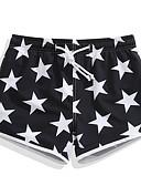 זול פיג'מות-בגדי ריקוד נשים מכנסי שורט בגדי ים קל במיוחד (UL), ייבוש מהיר, נושם ספנדקס / פולי בגדי ים ביגוד חוף מכנסי גלישה / תחתיות כוכבים גלישה / חוף / ספורט ימי