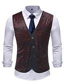 cheap Men's Ties & Bow Ties-Men's Basic Vest-Floral