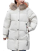 cheap Women's Downs & Parkas-Women's Basic Padded - Solid Colored