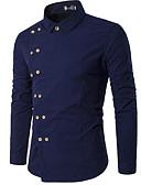 billige Herreskjorter-herreskjorte - solid farget stå