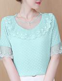 ieftine Bluză-Pentru femei Bluză Bumbac Geometric