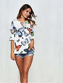ieftine Tricou-Pentru femei Tricou Animal Imprimeu