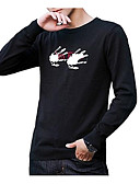 cheap Men's Sweaters & Cardigans-Men's Long Sleeve Pullover - Solid Colored Round Neck