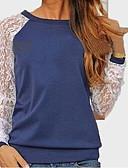 ieftine Pantaloni de Damă-Pentru femei Tricou Mată Dantelă