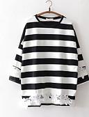 ieftine Bluze & Camisole Femei-Pentru femei Tricou Ieșire Dungi