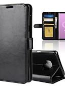 halpa Puhelimen kuoret-Etui Käyttötarkoitus Samsung Galaxy Note 9 / Note 8 Lomapkko / Korttikotelo / Flip Suojakuori Yhtenäinen Kova PU-nahka