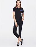 tanie Damskie bluzy z kapturem-Damskie Bluza z Kapturem Jendolity kolor Nogawka / Lato / Sportowy look