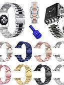 hesapli Smartwatch Bantları-Watch Band için Apple Watch Serisi 5/4/3/2/1 Apple Spor Bantları / DIY Aletler Paslanmaz Çelik Bilek Askısı